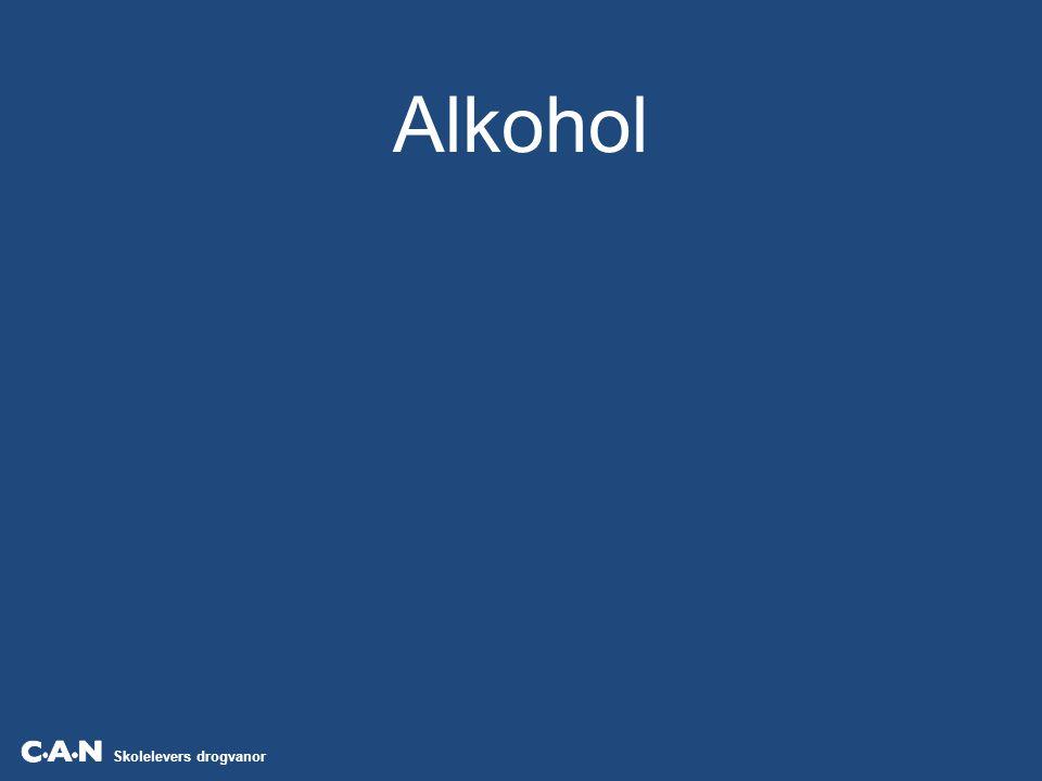 Skolelevers drogvanor Källa: CAN Andelen alkoholkonsumenter i årskurs 9 och i gymnasiets år 2, efter kön.