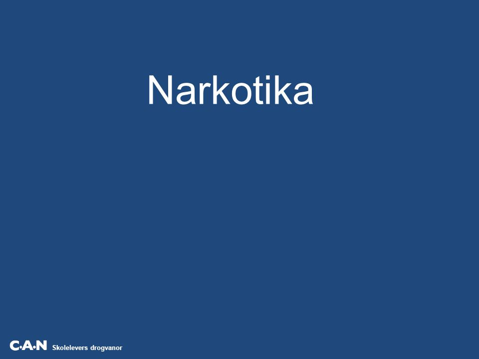 Skolelevers drogvanor Källa: CAN Andelen elever i årskurs 9 och gymnasiets årskurs 2 som någon gång använt narkotika, efter kön.