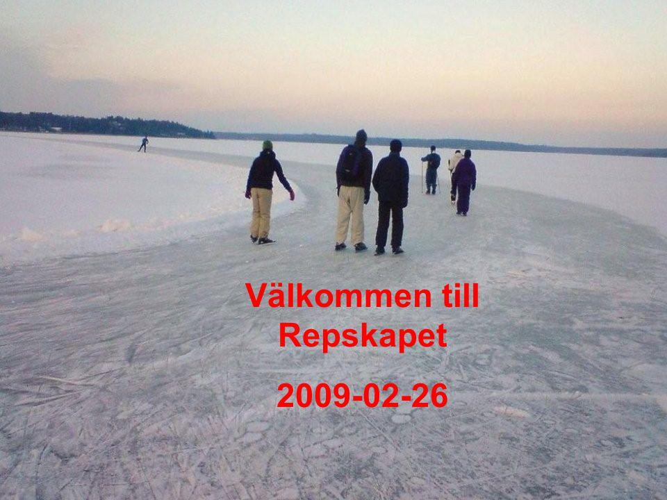 Välkommen till Repskapet 2009-02-26