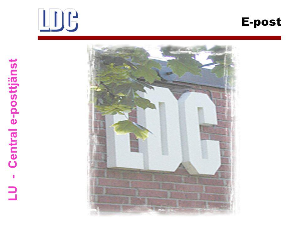 LU - Central e-posttjänst E-post
