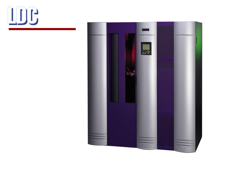 MagnetbandDLT IV SuperDLT-1 Kapacitet35/70 GB 160/320 GB Hastighet5 Mbyte/s 16 Mbyte/s Bandrobot324 slots 678 slots Jämförelse före / efter