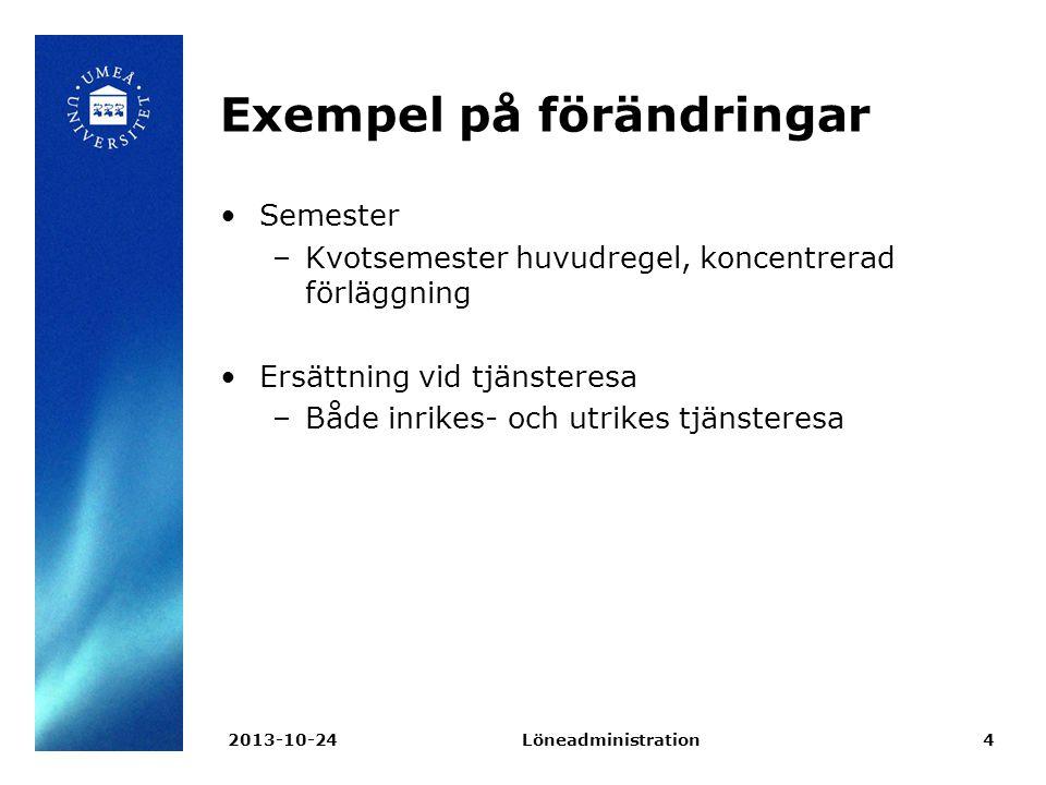 Arvodesräkning Löneadministration2013-10-2415