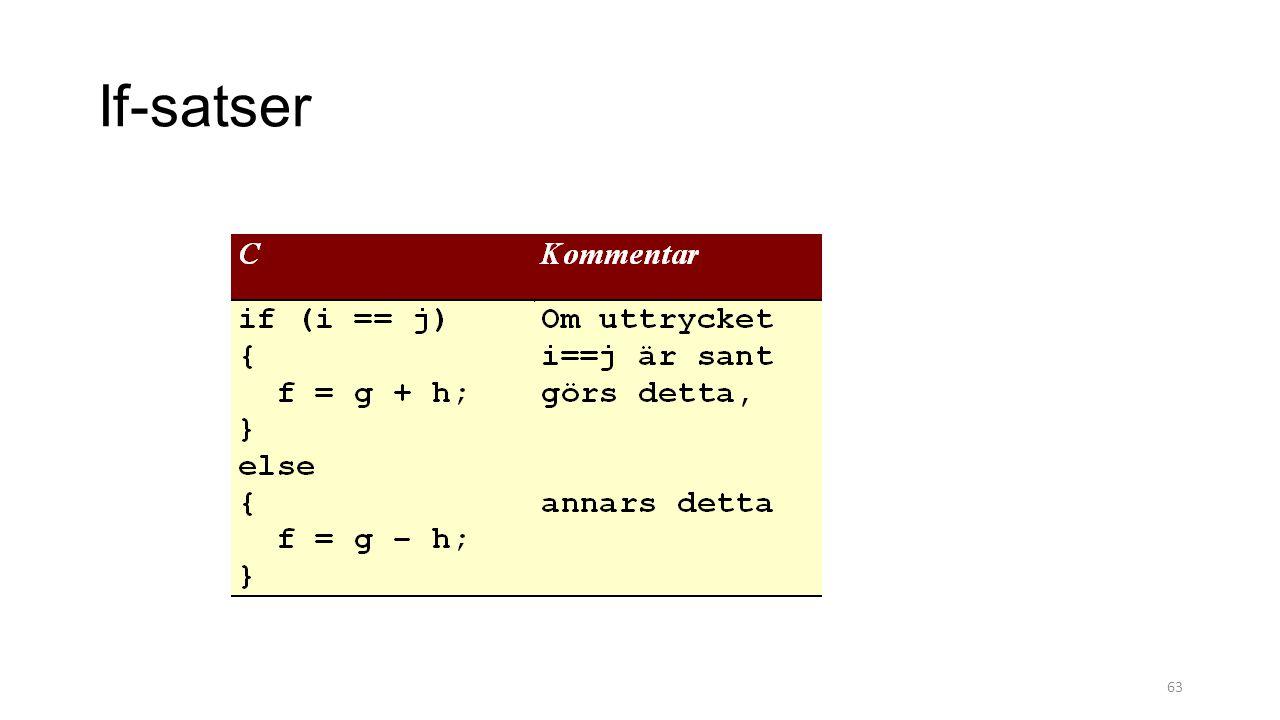 If-satser 63