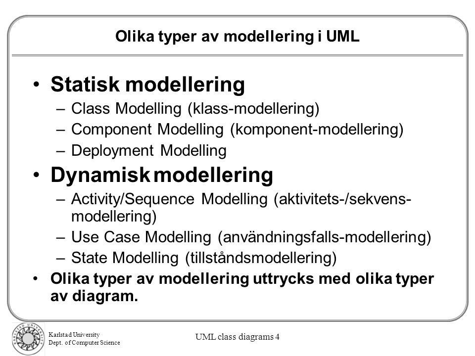 Karlstad University Dept.