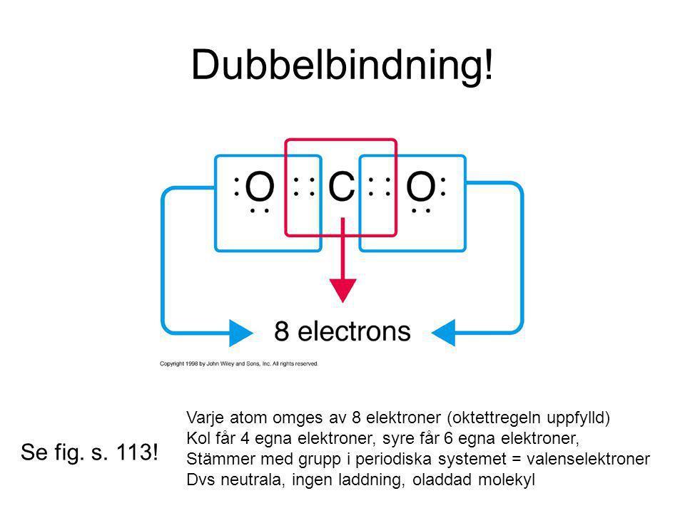 Dubbelbindning.Se fig. s. 113.