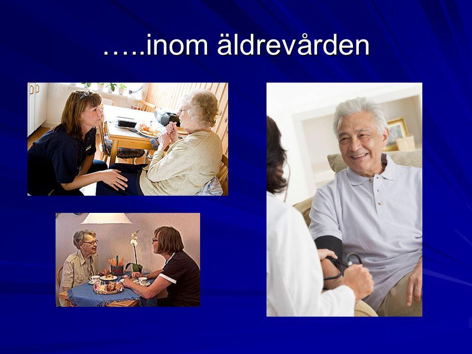 …..inom äldrevården