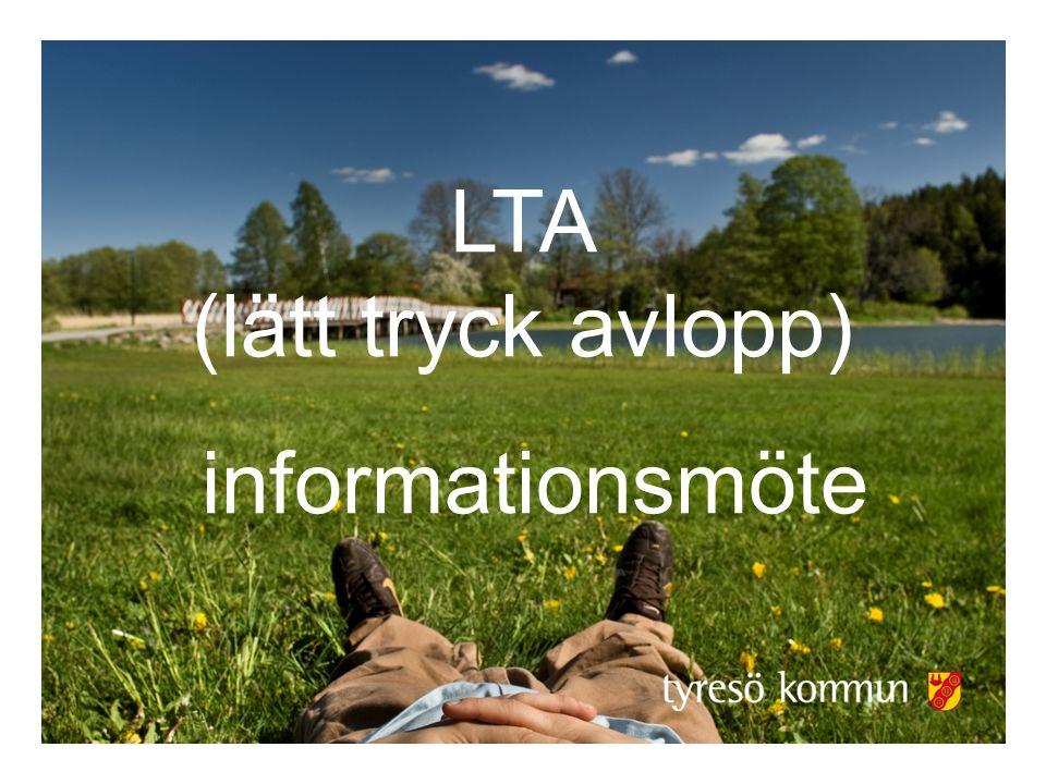 LTA (lätt tryck avlopp) informationsmöte