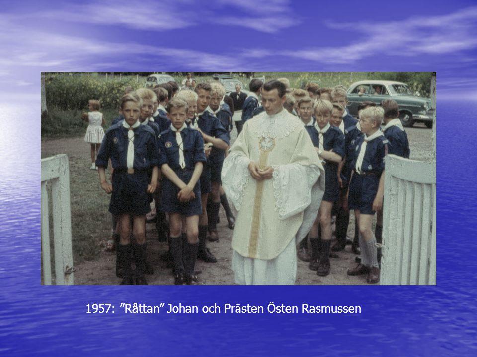 """1957: """"Råttan"""" Johan och Prästen Östen Rasmussen"""