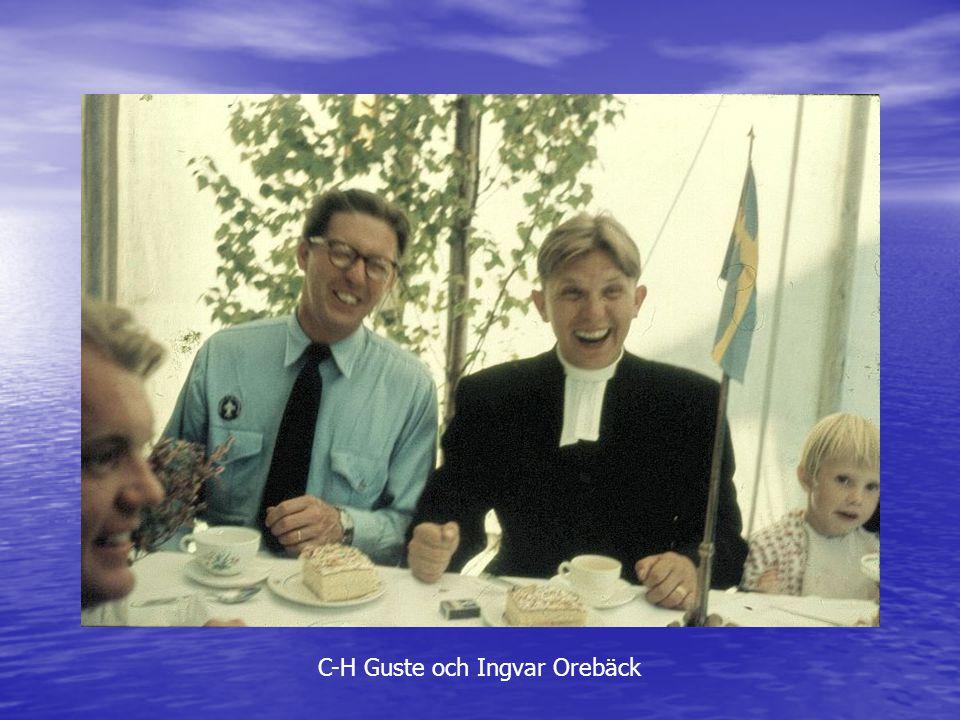 C-H Guste och Ingvar Orebäck