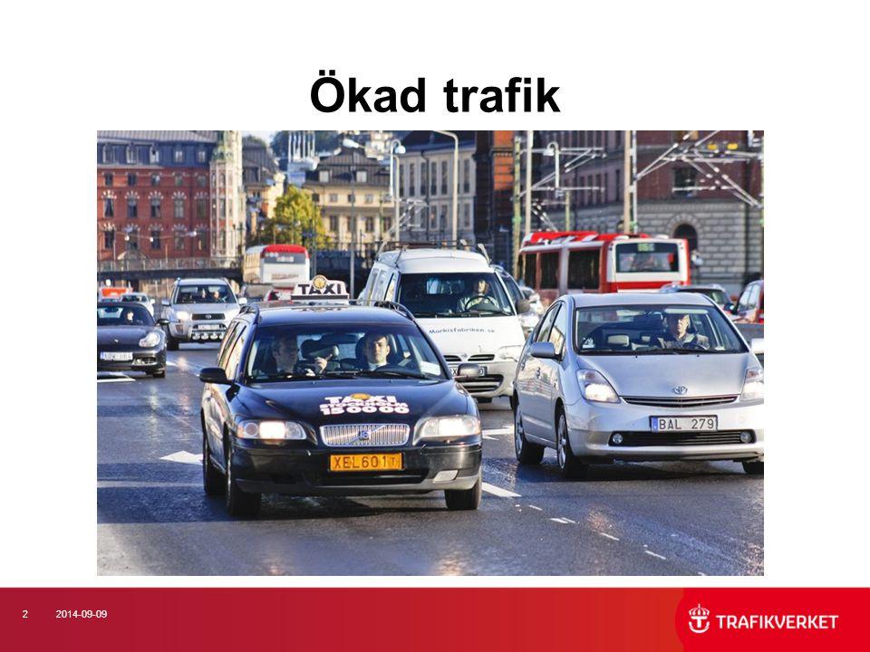 132014-09-09 Oskyddade trafikanter Äldre Får svårare skador Främst på kommunala gator Varna.