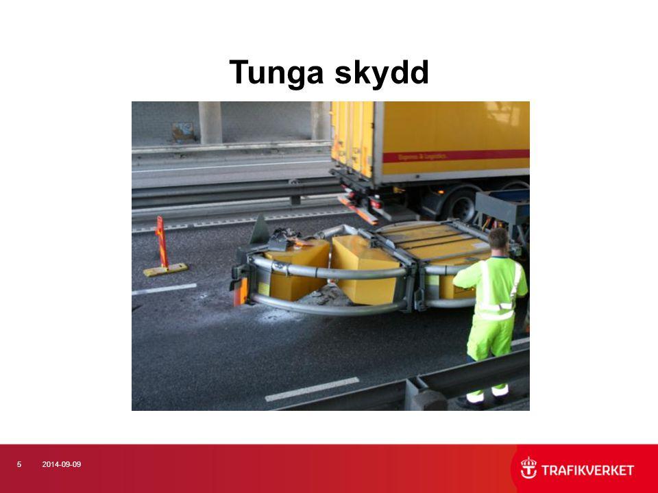 162014-09-09 Antal trafikolyckor med vinterväghållningsfordon 2003-2011, per fordonstyp (Källa: STRADA)