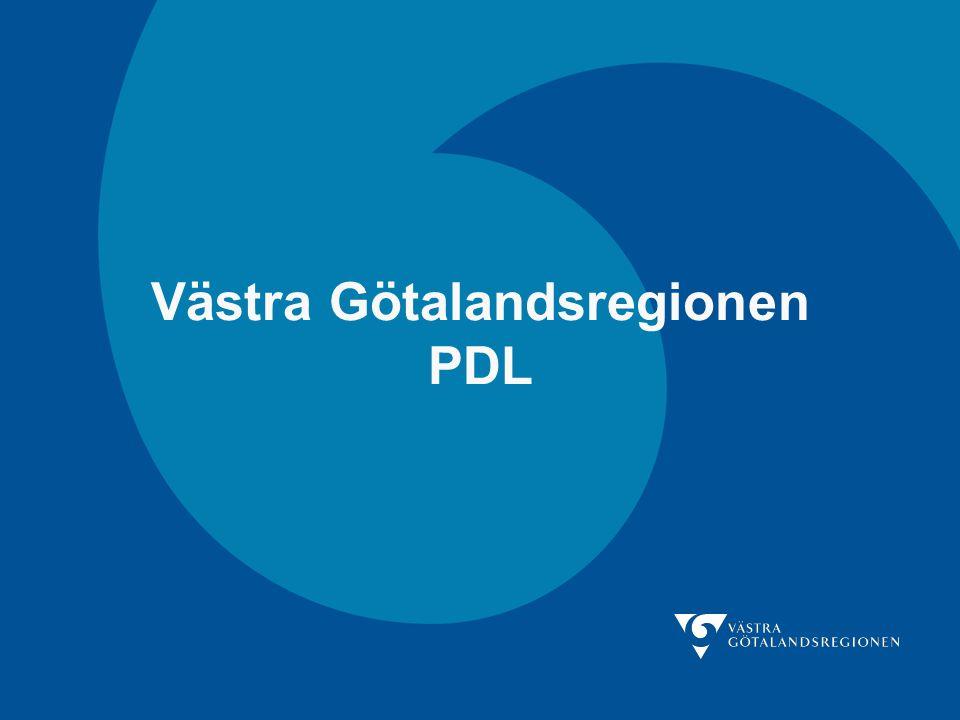 Västra Götalandsregionen PDL