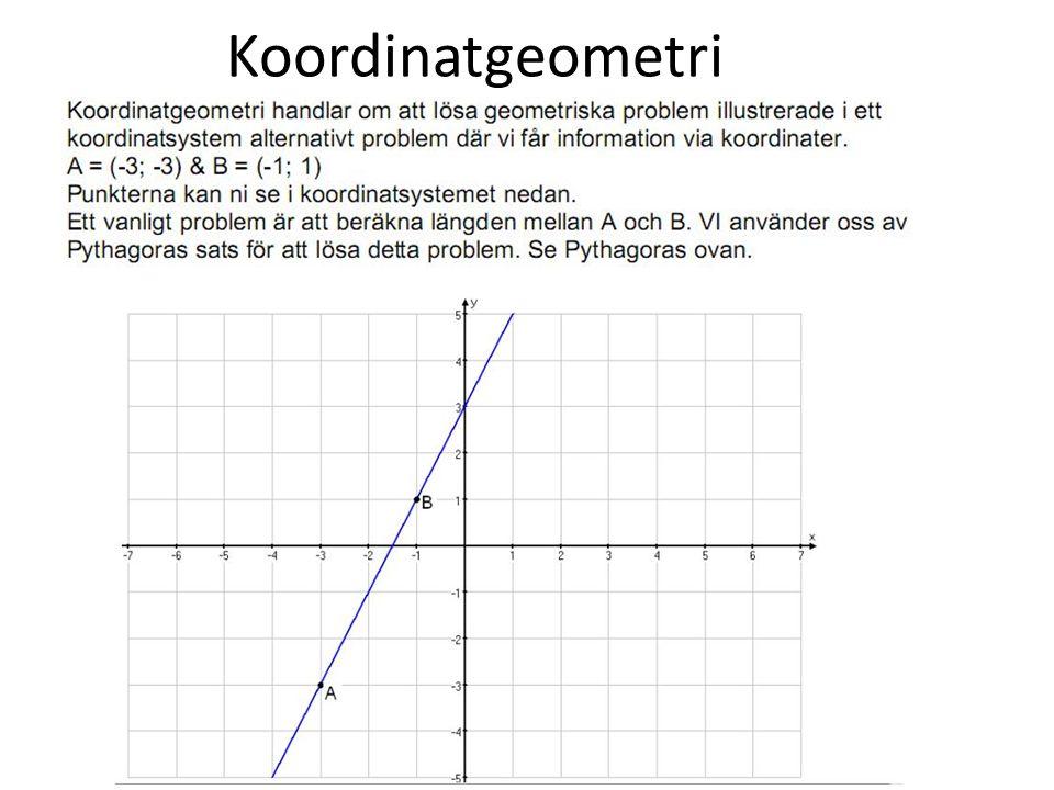 Koordinatgeometri
