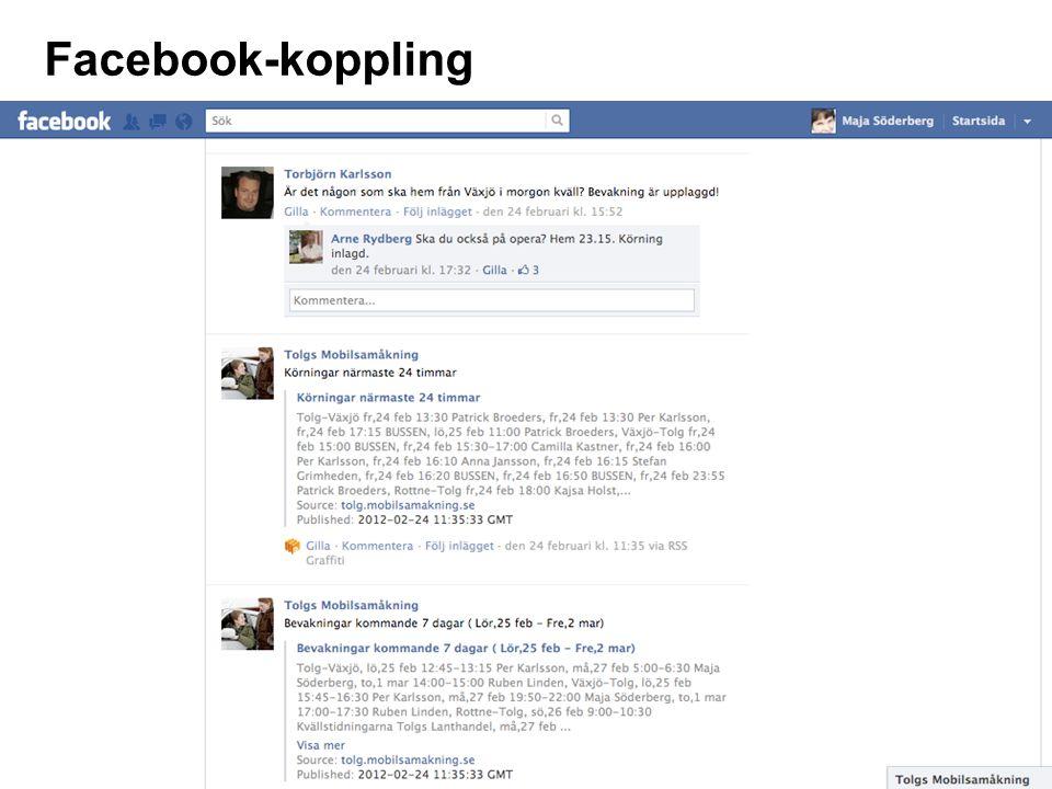 Facebook-koppling