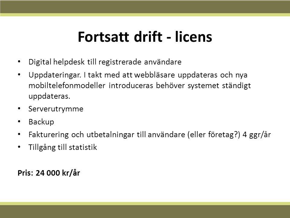 12-02-13 Fortsatt drift - licens Digital helpdesk till registrerade användare Uppdateringar.