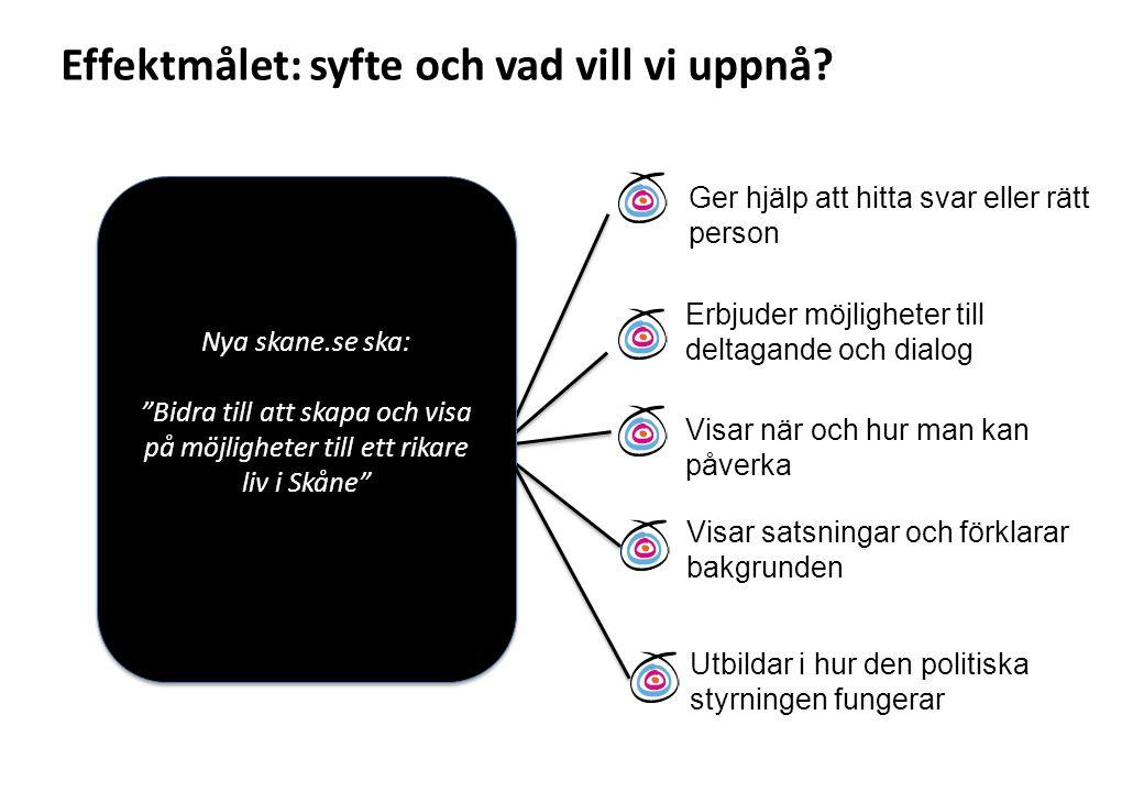 """Nya skane.se ska: """"Bidra till att skapa och visa på möjligheter till ett rikare liv i Skåne"""" Nya skane.se ska: """"Bidra till att skapa och visa på möjli"""