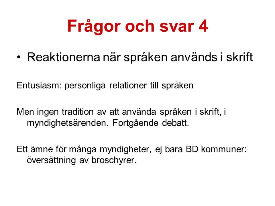 Vi provar Kommunförbundets hemsida: översättning till fem språk Sveriges första hemsida på flera varieteter av meänkieli Bra jobbat av översättarna!