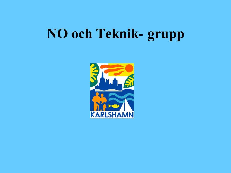 NO och Teknik- grupp