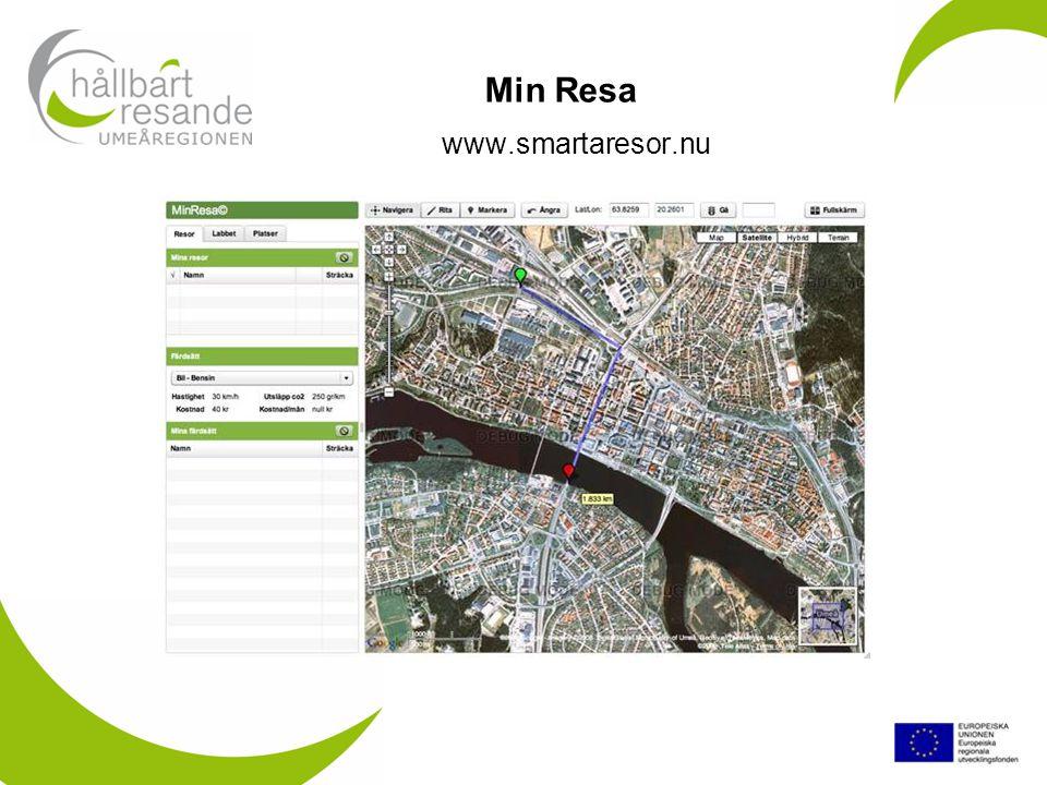 www.smartaresor.nu Min Resa