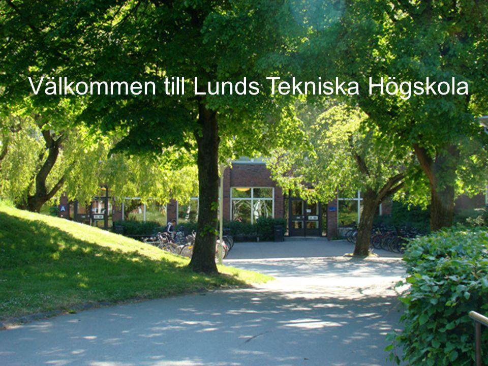 Välkommen till Lunds Tekniska Högskola