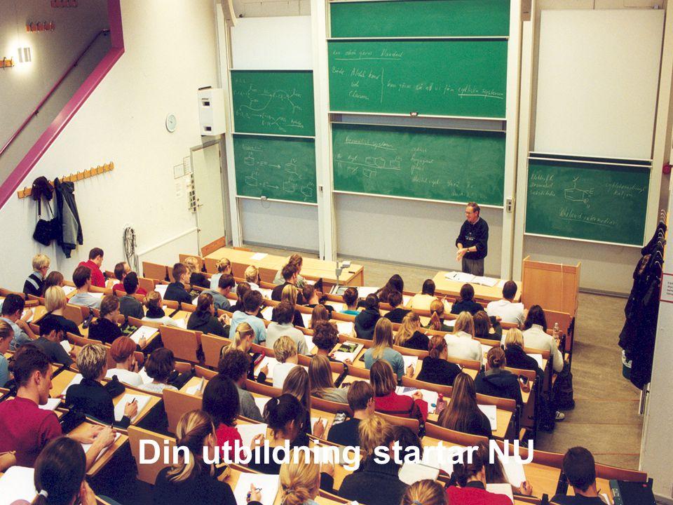 Din utbildning startar NU
