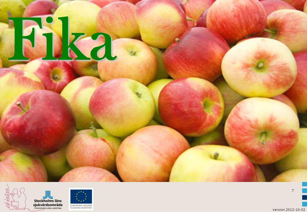 7 v ersion 2012-10-02Fika
