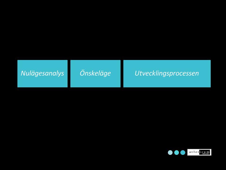 ÖnskelägeUtvecklingsprocessenNulägesanalys