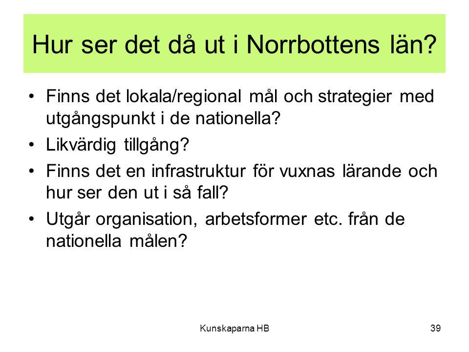 Hur ser det då ut i Norrbottens län.