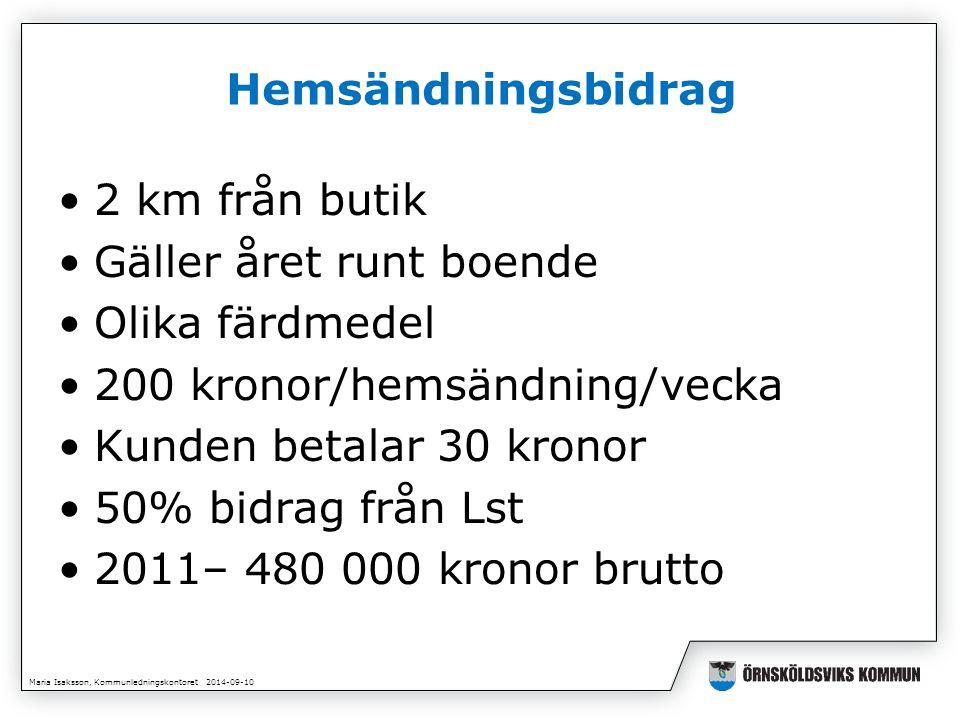 Maria Isaksson, Kommunledningskontoret 2014-09-10 Projekt Bygd och stad i balans Två projektansökningar Tillväxtverket 2, 3 Mkr (varav 700 tkr 600 tkr Lst) Länsstyrelsen 3,6 Mkr