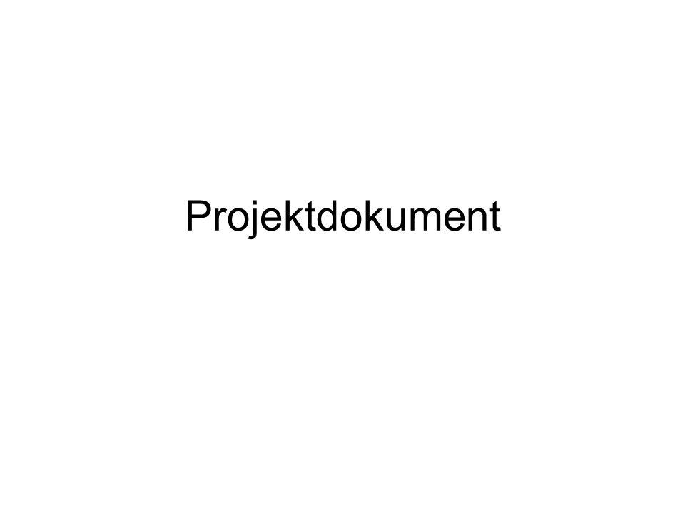 Projektdokument