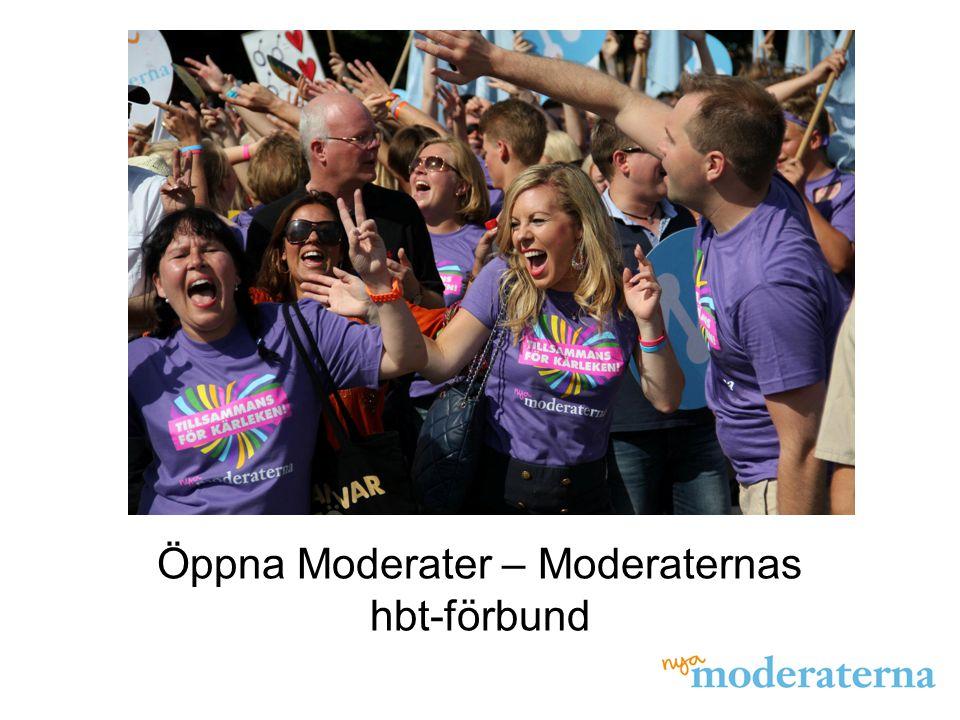 Öppna Moderater – Moderaternas hbt-förbund