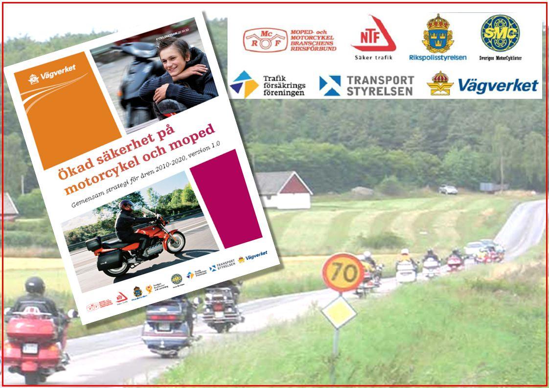 Scooter har fortsättningsvis lagts ihop med Annan Typ av motorcykel som används mest Andel av dödsolyckor 2005-2008 enligt djupstudier: 3% 19% 6% 12% 11% 36% (9%) 4%