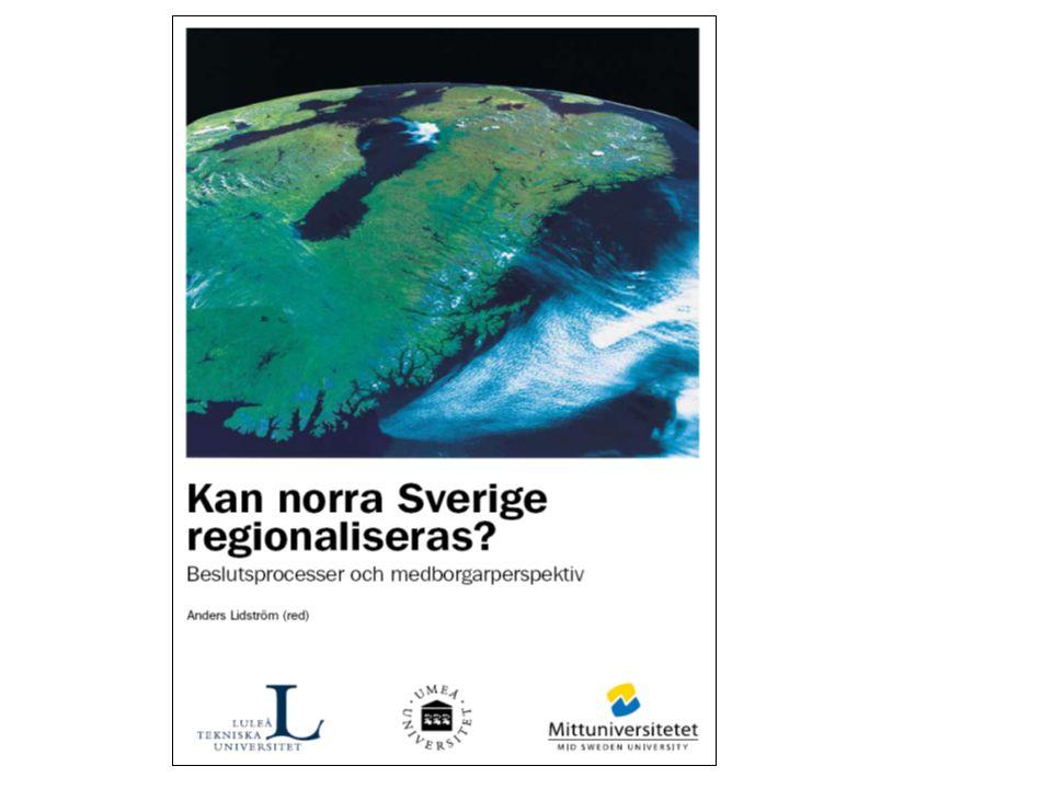 Slutrapporten från projektet Norrlänkgionstudie 2008