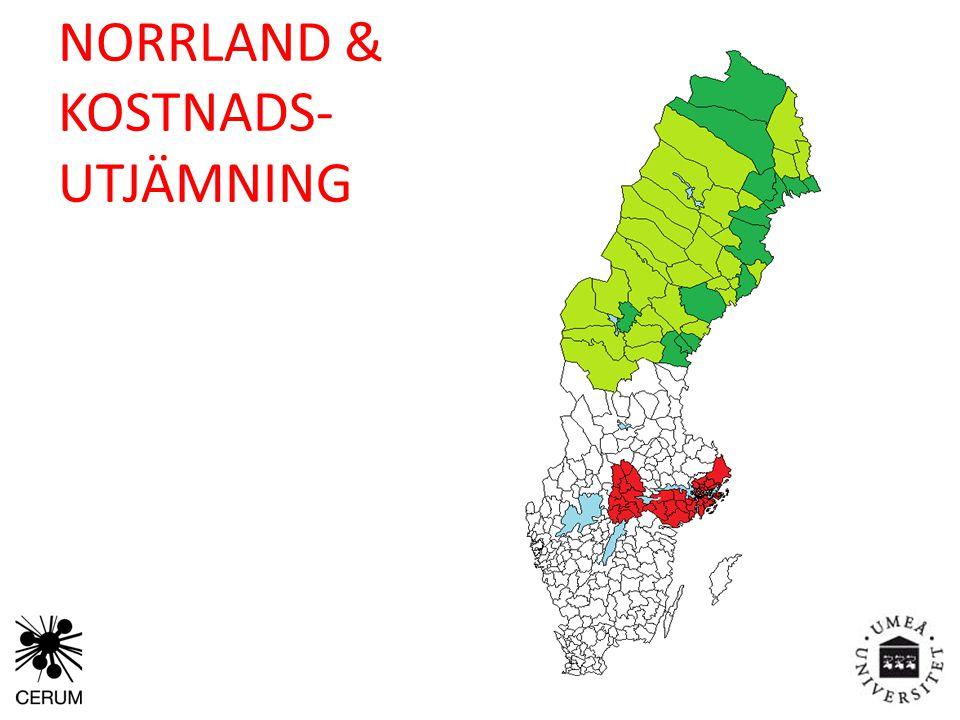 NORRLAND & KOSTNADS- UTJÄMNING