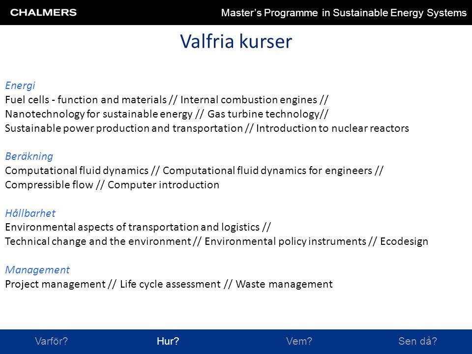 Chalmers University of Technology Varför.Hur. Vem.