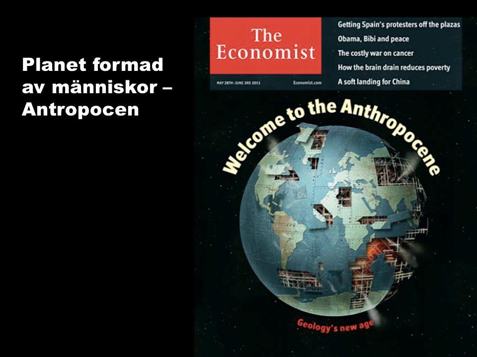 Synliggöra värdet av ekosystemtjänster Planet formad av människor – Antropocen