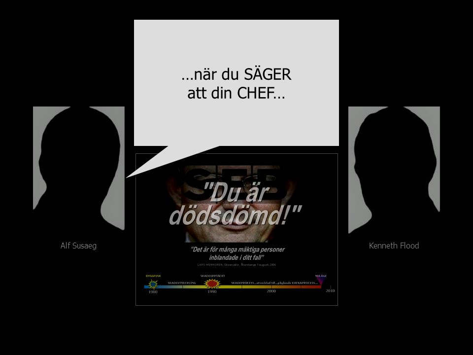 Alf Susaeg Kenneth Flood …när du SÄGER att din CHEF… …när du SÄGER att din CHEF…