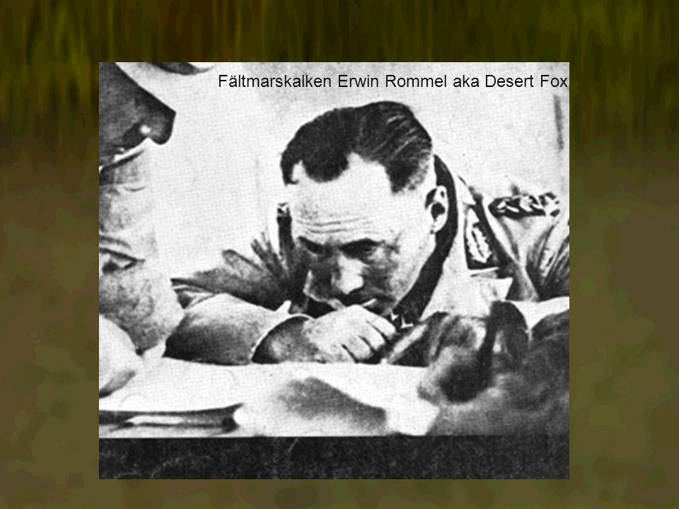 Fältmarskalken Erwin Rommel aka Desert Fox