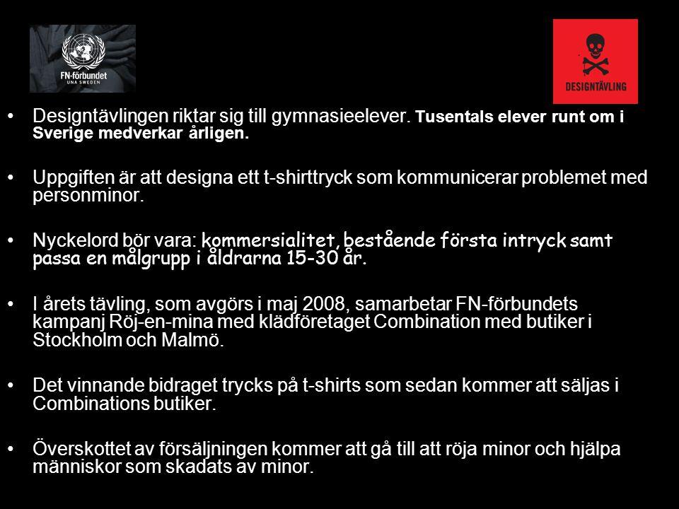 Designtävlingen riktar sig till gymnasieelever. Tusentals elever runt om i Sverige medverkar årligen. Uppgiften är att designa ett t-shirttryck som ko