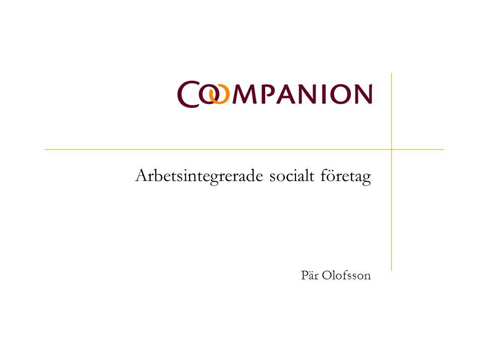 Arbetsintegrerade socialt företag Pär Olofsson