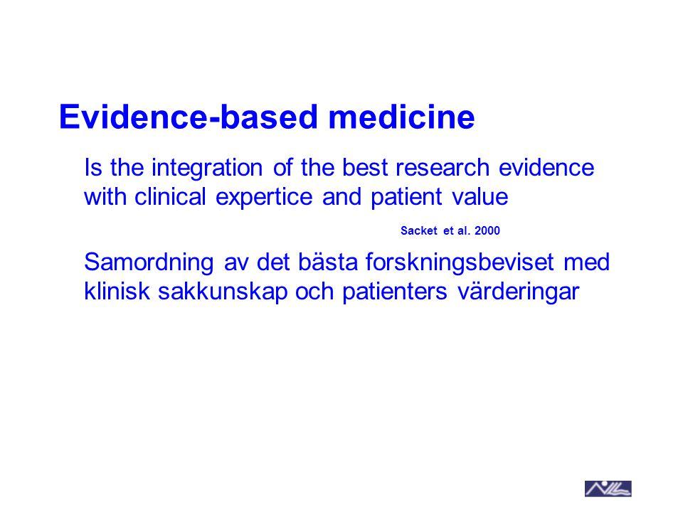 2014-09-11Umeå universitetBILD 10 Forskning Klinisk expertis Klinisk sakkunskap Patienters värderingar och önskemål Evidensbaserat arbetssätt Kostnader