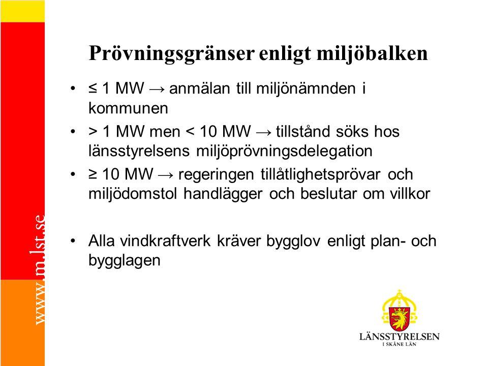 Handläggningsschema (1/3) 1.Ansökan och miljökonsekvensbeskrivning, MKB, inkommer till länsstyrelsen 2.Ansökan och MKB skickas till kommunen/kommunerna (bygg, miljö, styrelsen) för begäran om kompletteringsbehov (3 veckor) 3.Ärendet föredras för miljöprövningsdelegationen, MPD, och ev komplettering begärs av sökanden (3 veckor) 4.Kompletteringarna gås igenom och ansökan kungörs i ortstidning samt skickas på remiss (3 veckor) till kommunen/kommunerna samt till en aktförvarare i kommunen 5.Sökanden ges möjlighet att bemöta inkomna yttranden (3 veckor)