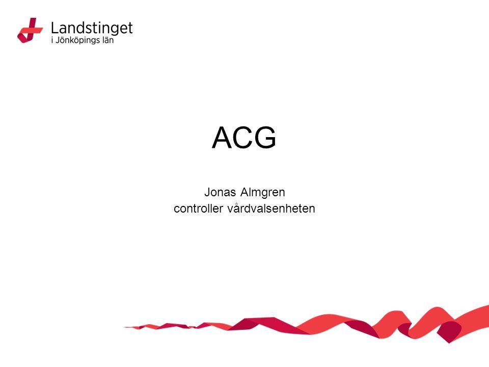 ACG Jonas Almgren controller vårdvalsenheten