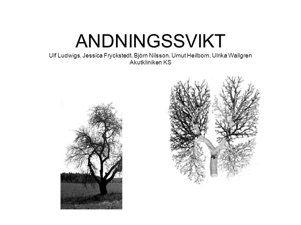 ANDNINGSSVIKT Ulf Ludwigs, Jessica Fryckstedt, Björn Nilsson, Umut Heilborn, Ulrika Wallgren Akutkliniken KS