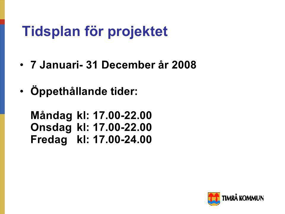 Ledningsgruppen för projektet i Kommun Gunilla Pontén- kultur & tekniknämnden ( S ) Tony Andersson- kultur & tekniknämnden ( M ) Bo Markusson- avd. ch