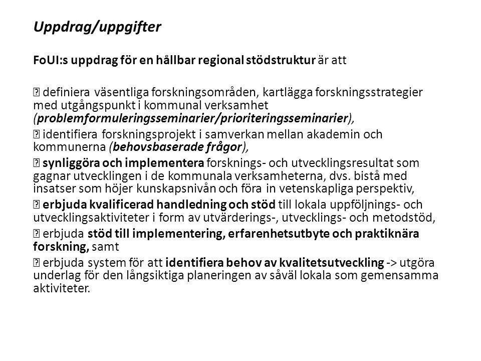 Organisation Ett 5-årigt samverkansavtal upprättas mellan alla Norrbottens kommuner.