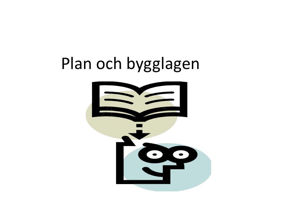 Plan och bygglagen
