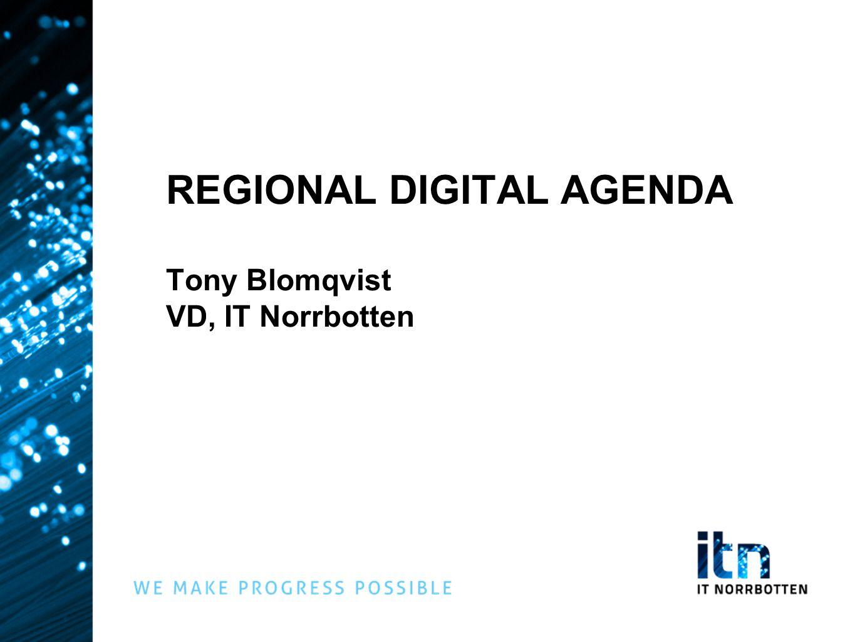 REFERENSGRUPP Stor expertkunskap inom sina respektive områden Driver redan i dag aktiviteter som har koppling till den digitala agendan Ta fram sina egna handlingsplaner (konkreta mätbara åtgärder)