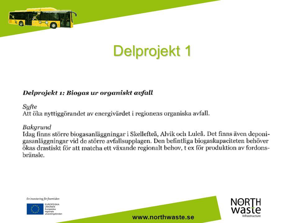 www.northwaste.se Delprojekt 1