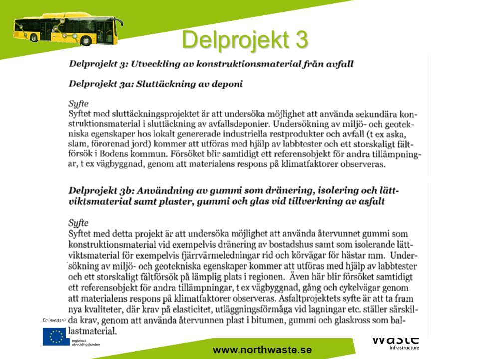 www.northwaste.se Delprojekt 3